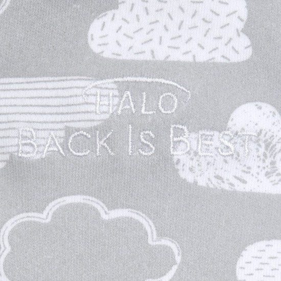 HALO SleepSack Swaddle, Cotton - Cloud