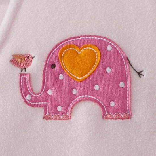 HALO SleepSack Big Kids, Micro-fleece - Elephant ( 4-5T)