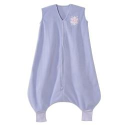 HALO SleepSack Big Kids, Micro-fleece - Lilac Snowflake ( 2-3T)