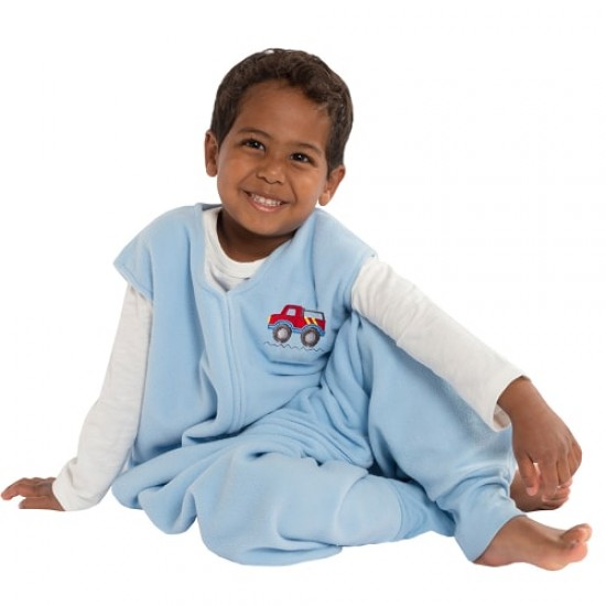 HALO SleepSack Big Kids, Micro-fleece - Truck ( 2-3T)