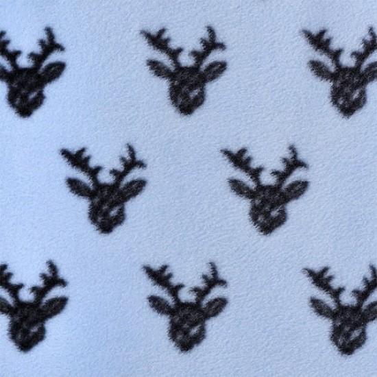 HALO SleepSack Early Walker, Micro-Fleece - Oh Deer Blue