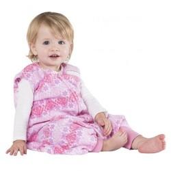 HALO SleepSack Early Walker, Micro-Fleece - Pink Butterfly