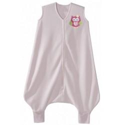HALO SleepSack Early Walker, Micro-Fleece - Pink Owl