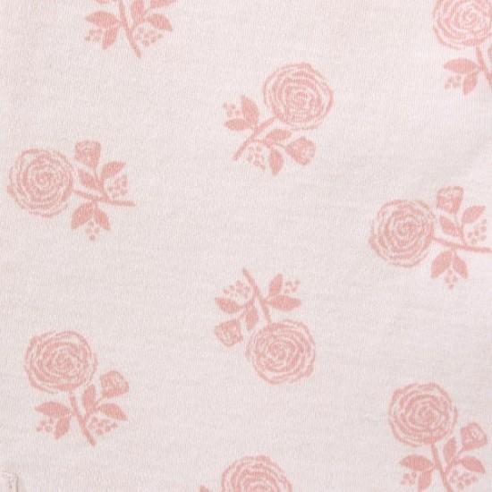 HALO SleepSack Swaddle, Cotton - Rose Toss Blush