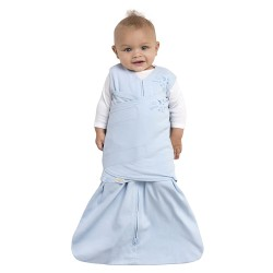 HALO SleepSack Swaddle, Cotton - Blue