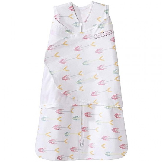 HALO SleepSack Swaddle, Cotton - Pink Arrows