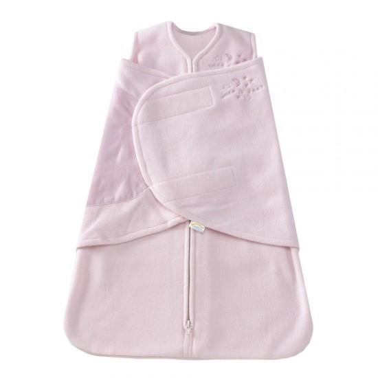 HALO SleepSack Swaddle, Micro-Fleece - Pink