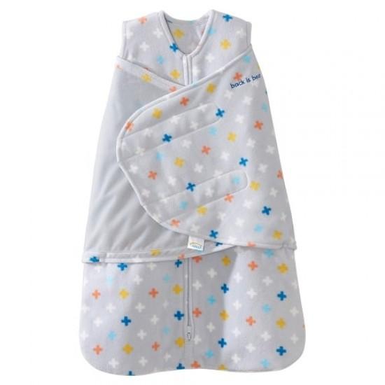 HALO SleepSack Swaddle, Micro-Fleece - Plus Sign