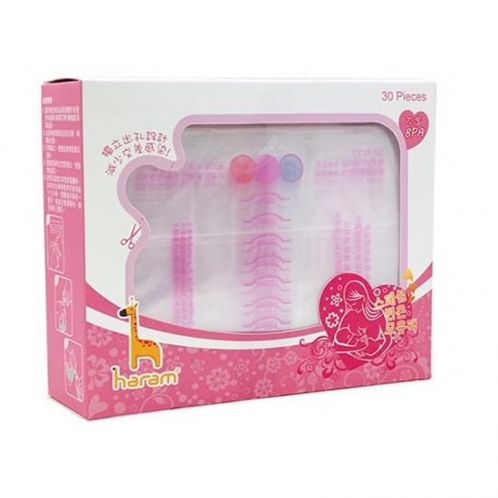 Haram Breast Milk Storage Bag - 250ml x 30 pcs