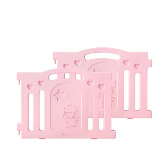 IFam MARSHMALLOW baby room side panel - Pink