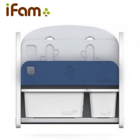 Ifam Easy Doing Front Bookshelf - Blue