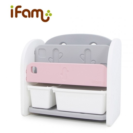 Ifam Easy Doing Front Bookshelf - Pink