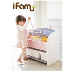 Ifam Easy Doing Front Bookshelf - Pink