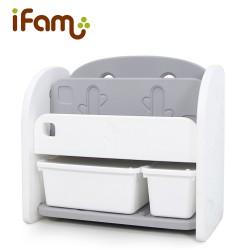 Ifam Easy Doing Front Bookshelf - White