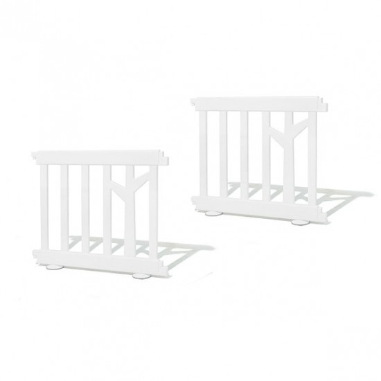 ifam Birch baby room panels 2 pcs - white