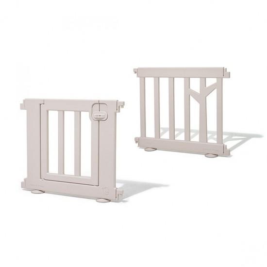 ifam Birch baby room panels + Door - Brown