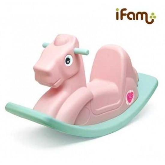 IFam Pony Rocking Horse - Pink