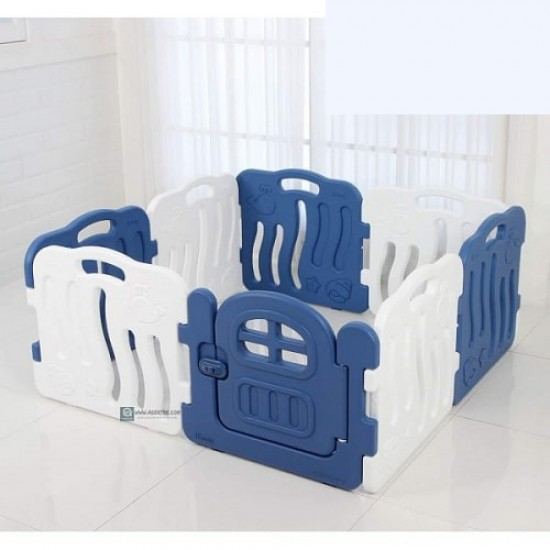 Ifam SHELL BABY Room - Blue -133 x 133 cm