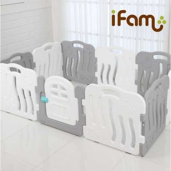Ifam SHELL BABY Room - Grey -198 x 133 cm