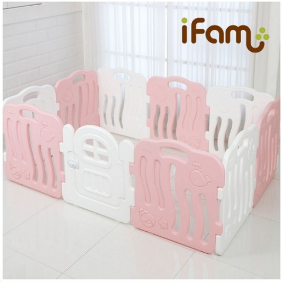 Ifam SHELL BABY Room - Pink -198 x 133 cm