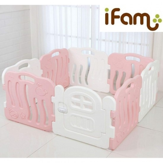 Ifam SHELL BABY Room - Pink -133 x 133 cm