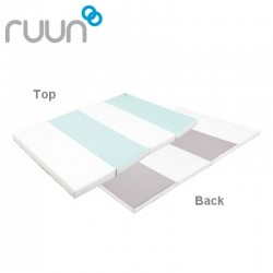 ifam Ruun Playmate - Gray + Mint + White - 200 x 140 cm