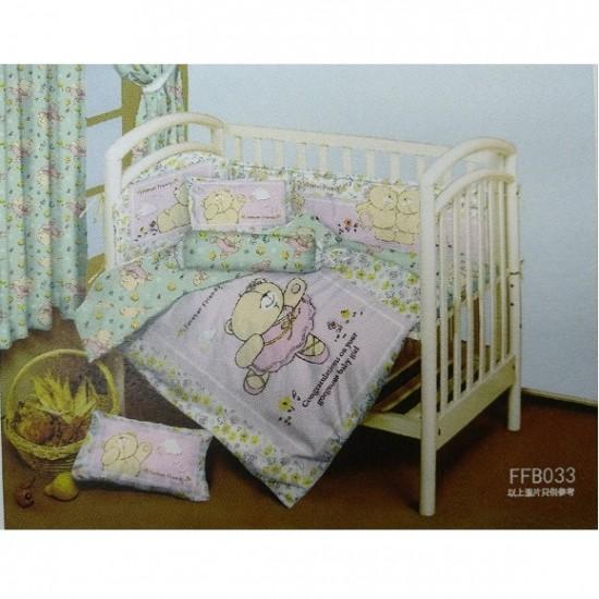 J-Tex 12-Pieces Infant Bedding Set - Forever Friends (FFB033)