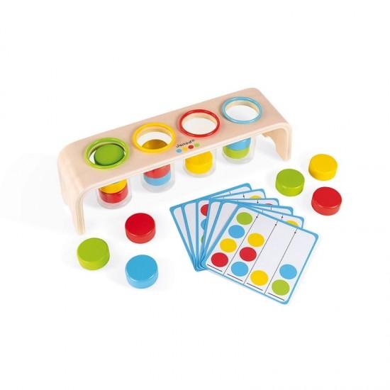 Janod Essentiel Sorting Colors Game