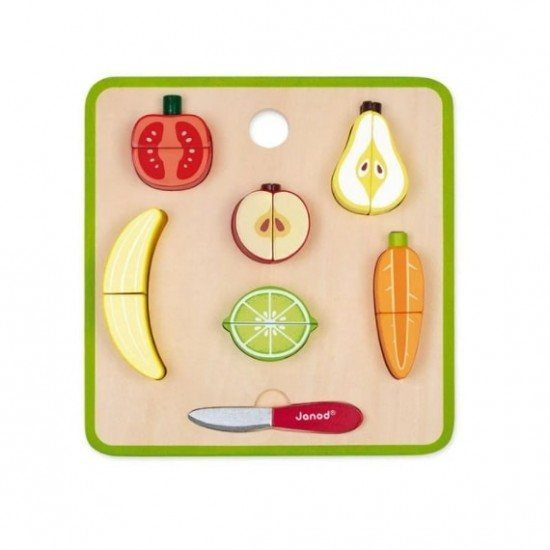 Janod Chunky Fruits and Vegetables Set