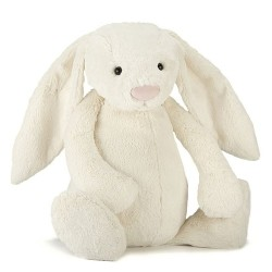 Jellycat Bashful Cream Bunny Really Big 67 cm
