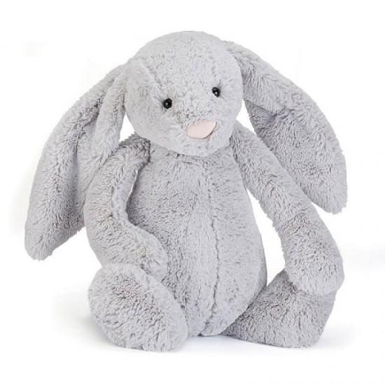 Jellycat Bashful Silver Bunny Really Big 67 cm