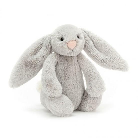 Jellycat Bashful Silver Bunny Small 18 cm