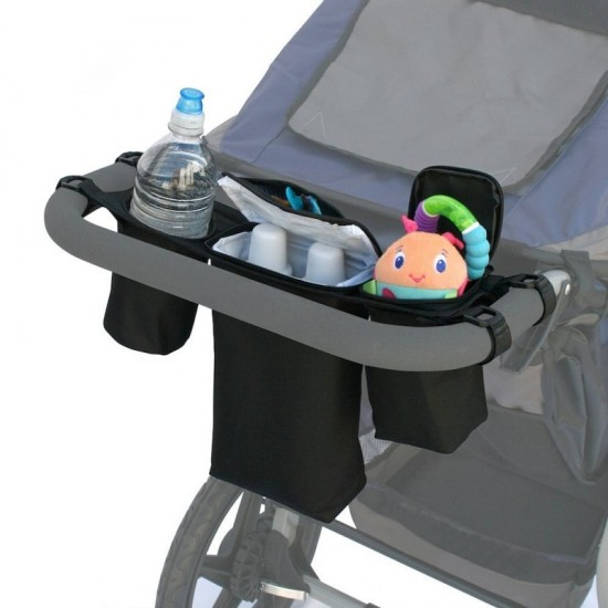 JL Childress Cups 'N Cool Deluxe Stroller Console