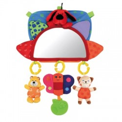 K's Kids BABY'S RVM (Rear View Mirror) activity toy