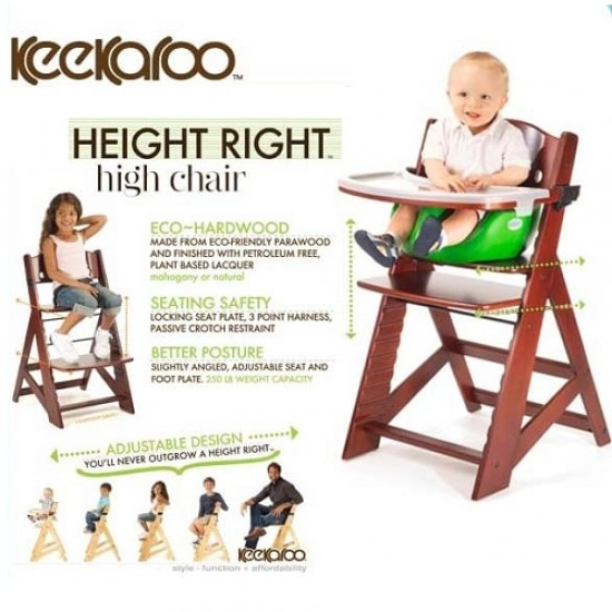 Keekaroo Height Right High Chair with insert