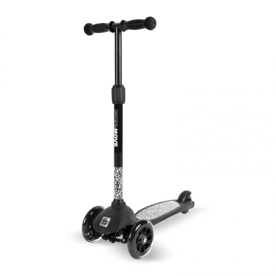Kids Star Free-Move Scooter - Cool Black