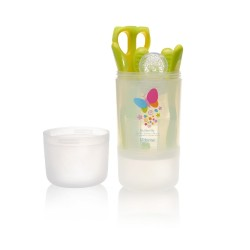 Kidsme Baby Travel Easy Set with Food Container - Lime
