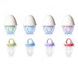Kidsme Food Feeder Plus with Egg shape Silicone (Top) Grinder
