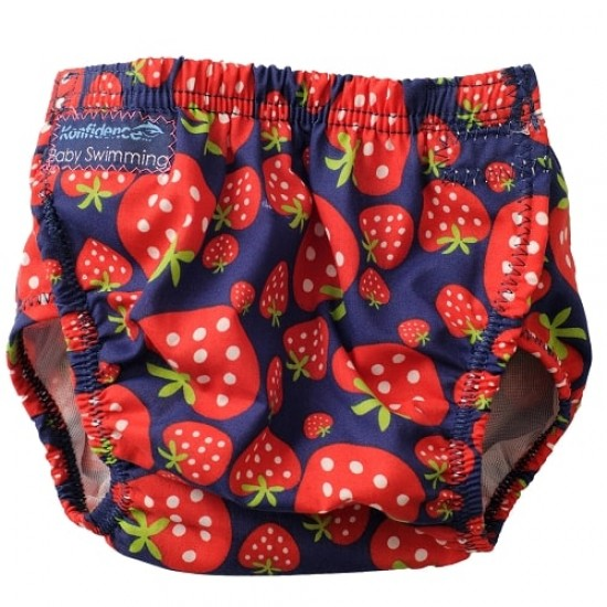 Konfidence ONE SIZE Swim Nappy - Strawberry