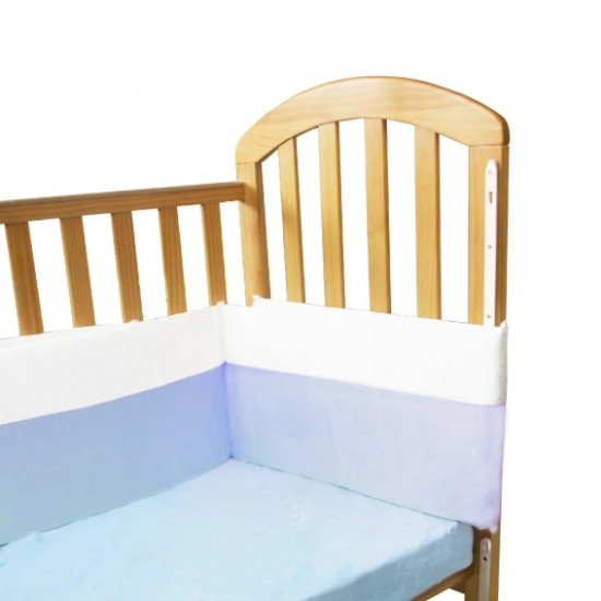 KuKu Bedding Bumper - Blue