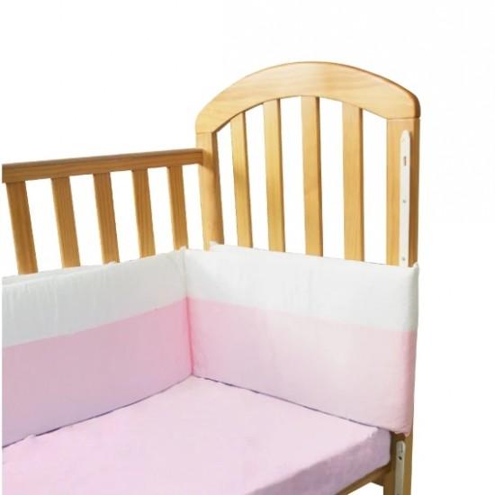 KuKu Bedding Bumper - Pink