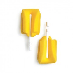 KuKu Sponge Bottle Brush Refill - 2 pcs