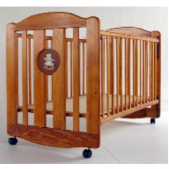 """LA Baby Cot  (3700BR)  Brown - 30 x 49.5"""""""