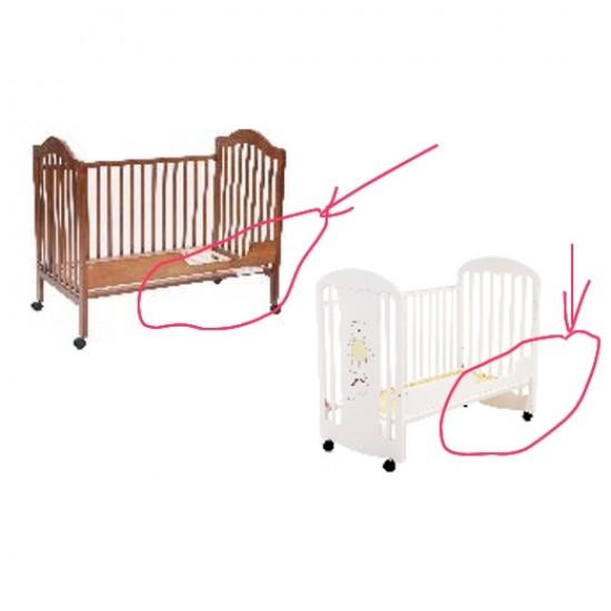 LA Baby Cot Bed Rail