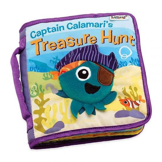 Lamaze Captain Calamaris Treasure Hunt Soft Book