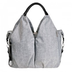 LÄSSIG Green Label Neckline Bag - Light Grey (LNB601)
