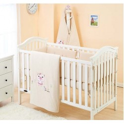 Lenny World Baby Knitted Bedding Set (9 pcs) - Lovely Pig