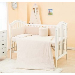 Lenny World Baby Knitted Bedding Set (9 pcs) - Natural Touch