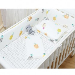 Lenny World Baby Knitted Bedding Set (9 pcs) - Pineapple Lattice