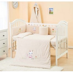 Lenny World Baby Knitted Bedding Set (9 pcs) - Smart Rabbit
